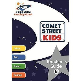 Lezing planeet Comet Street Kids Leerkrachtengids B (geel - oranje) (rijzende sterren lezing planeet)