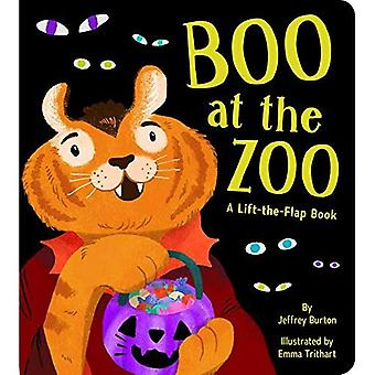 Boo at the Zoo: A Lift-the-Flap Book [Board book]