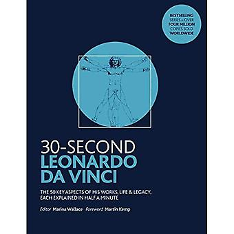 30-Second Leonardo da Vinci: His 50 greatest ideas and inventions, each explained in half a minute� (30 Second)