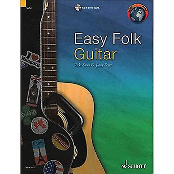 Easy Folk Guitar: 29 Traditional Pieces