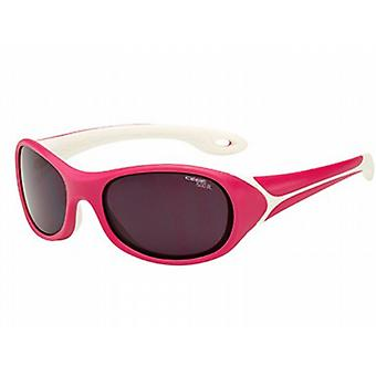 Cebe Flipper 3 to 5 Yrs Kids Sunglasses (Raspberry with 1500 Grey Blue Light Lens)