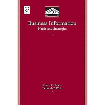Affärs informationsbehoven och strategier av Abels & Eileen G.