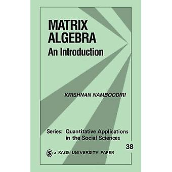 Álgebra matricial uma introdução por Namboodiri & Krishnan