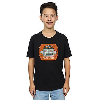 La théorie du Big Bang garçons Shel-Bot Icon T-Shirt