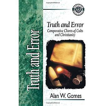 Sanning och lögn - jämförande diagram av kulter och kristendomen av Alan