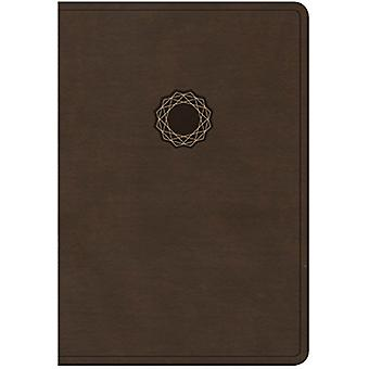 NKJV Deluxe Gift Bible - Brown/Tan Leathertouch by Holman Bible Staff