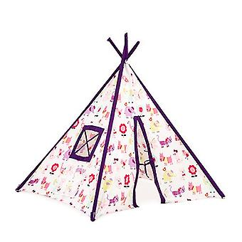 Children's Cute Pets Print Foldaway Play Tent Teepee