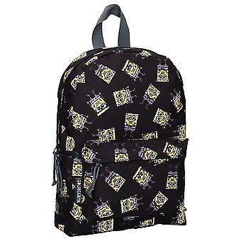 Children's SpongeBob SquarePants Iconic Black Backpack