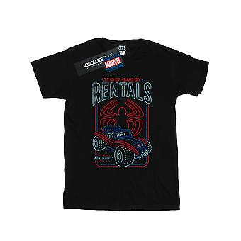 Marvel Girls Spider-Man Spider-Buggy Rentals T-Shirt