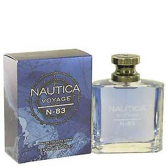 Nautica Voyage N-83 By Nautica Eau De Toilette Spray 3.4 Oz (men) V728-502339