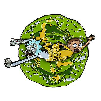 Rick and Morty Rick and Morty Spinning Enamel Pin