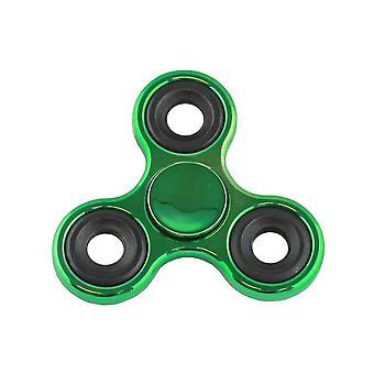 Hånd spinner metalic grøn