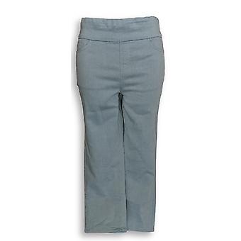 Denim & Co. Women's Jeans Indigo Soft Stretch Smooth Waist Blue A307071