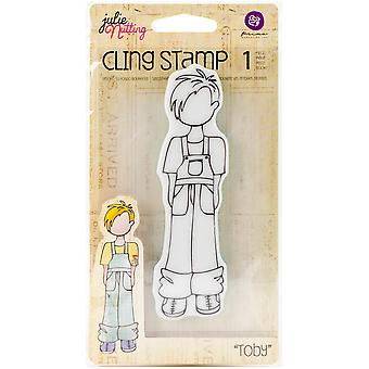 Julie Nutting Mixed Media Cling stempels-Toby 10969