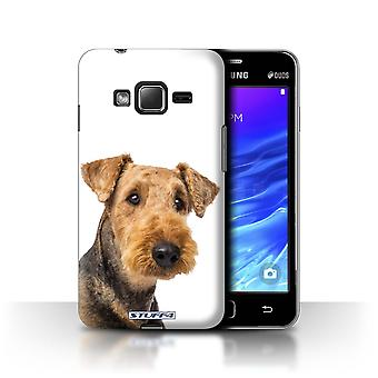 STUFF4 Case/Cover for Samsung Z1/Z130/Airedale Terrier/Dog Breeds