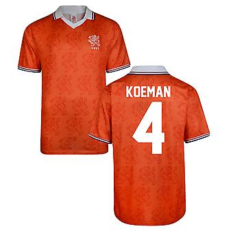 Score Draw Holland World Cup 1994 Home Shirt (Koeman 4)