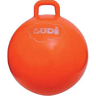 Ludi Bouncing Ball 55 cm orange (Outdoor , Garden Toys , Stilts)
