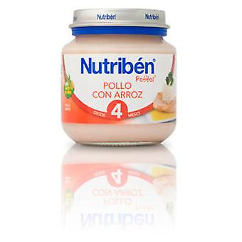 Nutribén Chicken With Rice 130g (Enfance , Alimentation , Petits-pots)