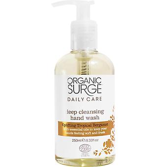 Organic Surge Tropical Orange & Bergamot Hand Wash