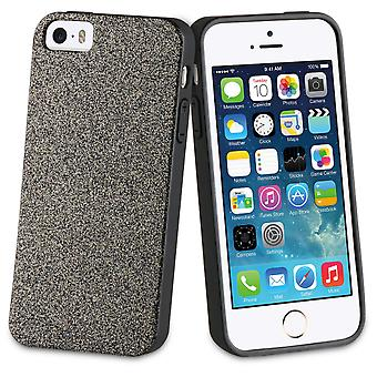 Muvit Gold glitter bling tpu Case iphone 5s