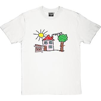 Child's House Foreclosure Men's T-Shirt