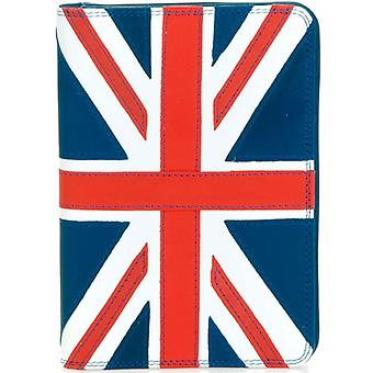 Mywalit Leather Union Jack Passport Cover