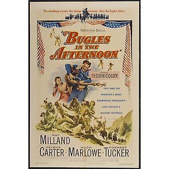 Cornetas en el tarde Movie Poster (11 x 17)