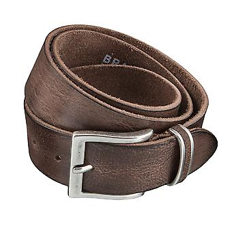 BRAX belts men's belts leather belt cowhide Brown 3930