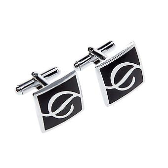 Frédéric Thomass cuff links square Dynamo black