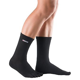 Knitido Track & trail mid-calf. Toe socks from Coolmax®