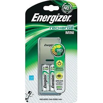 Charger for cylindrical cells NiMH incl. rechargeables Energizer Mini-Charger AAA , AA