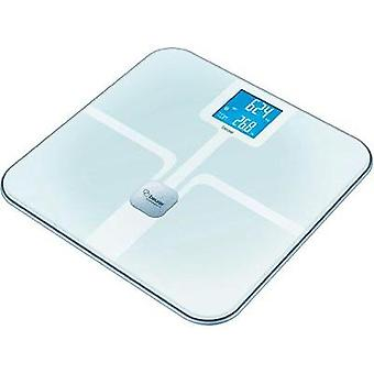 Smart bathroom scales Beurer BF800 Weight range=150 kg White