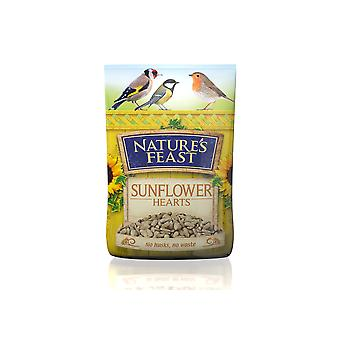 Natures Feast Sunflower Hearts 12.75kg