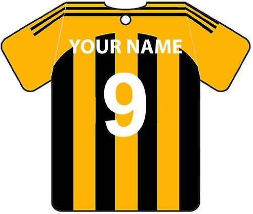 Personalisierte Hull City Football Shirt Auto Lufterfrischer