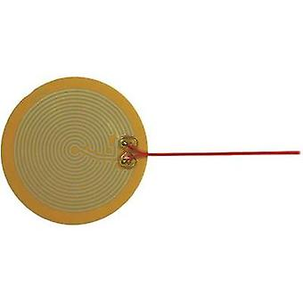 Heating foil self-adhesive 12 Vdc, 12 Vac 6 W IP rating IPX4 (Ø) 140 mm Thermo