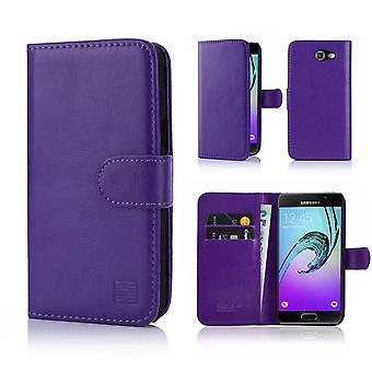 32nd Book wallet case + stylus for Samsung Galaxy J3 (2017) J327P - Purple