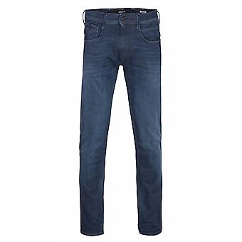 Replay Hyperflex handmade in Italy of on bass trousers mens Jeans Blau 661 804 007