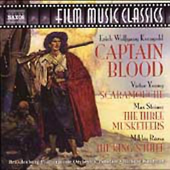 Captain Blood & Other Swashbucklers - Captain Blood and Other Swashbucklers [CD] USA import