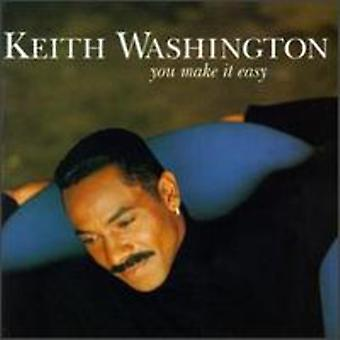 Keith Washington - You Make It Easy [CD] USA import