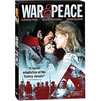 Krig & fred [DVD] USA importerer
