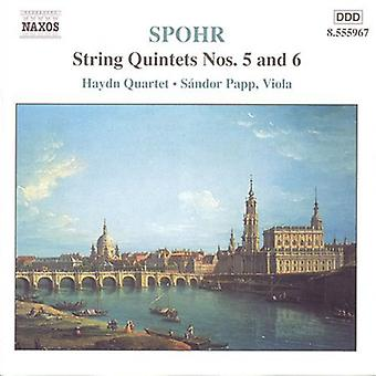 L. Spohr - Spohr: String Quintets Nos. 5 & 6 [CD] USA import