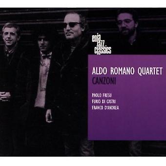 Aldo Romano kvartetten - Canzoni [CD] USA importerer