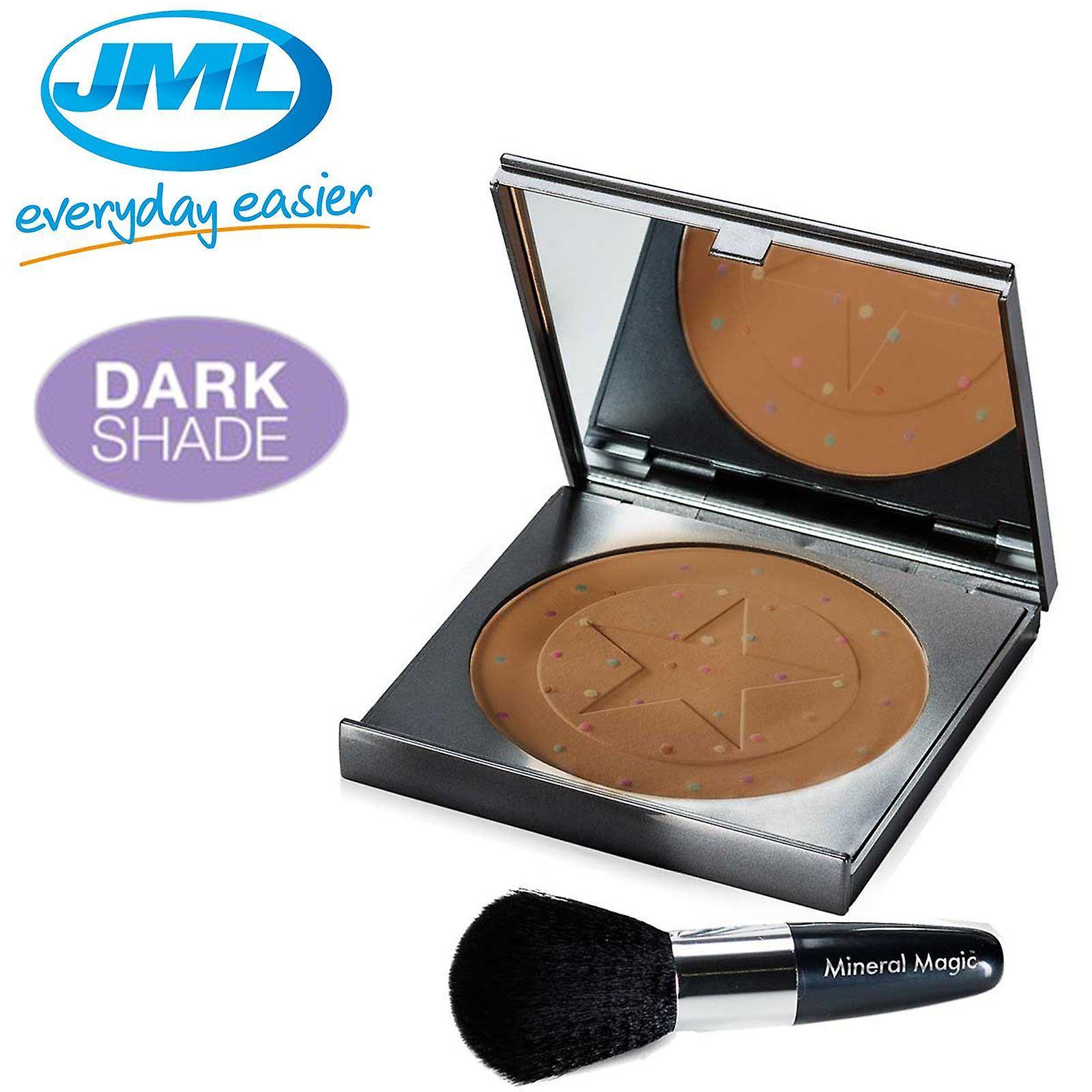 JML Mineral mágico color corrección de polvo - tono oscuro
