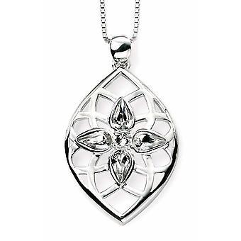 925 Silver Swarovski Crystal Necklace