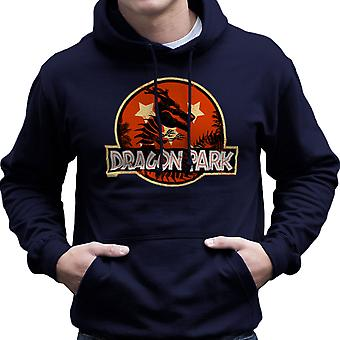Dragon Ball Z Parku Jurajskiego Shenron Men's z kapturem Bluza