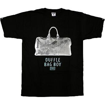 Crooks & Castles Duffle Bag T-Shirt Black
