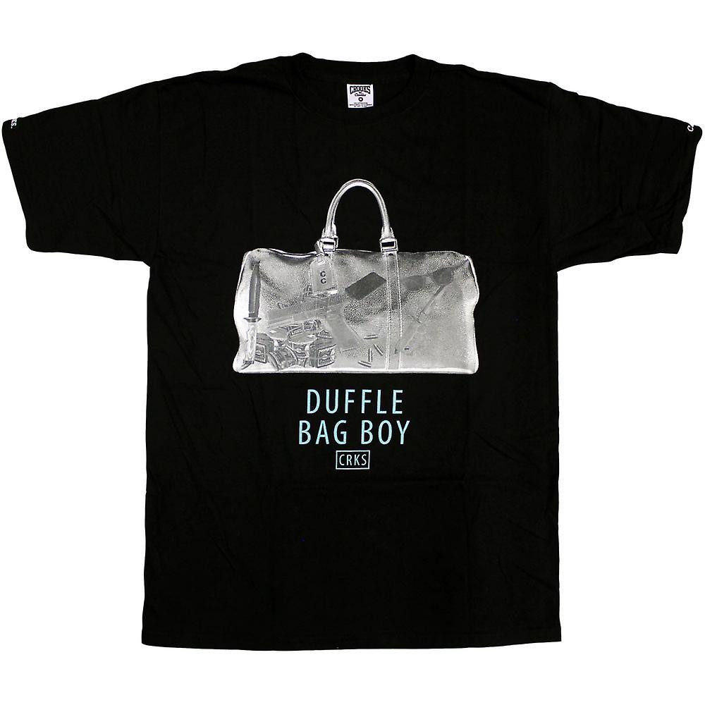 Skurkar & slott Duffle Bag T-Shirt svart