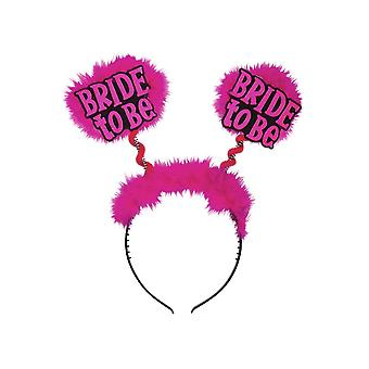 Hair accessories  Black Bride To Be Head Bopper