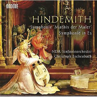 Hindemith / Ndr Sinfonieorchester / Eschenbach - Symphonie Mathis Der Maler - Symphonie in Es [CD] USA import