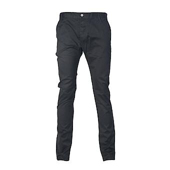 Armani Jeans Armani Jeans Slim Fit Chinos In Black  Navy Blue  Charcoal Grey And Khaki Green Z6P15AG